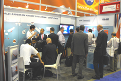 KLAW OTC Houston 2013 busy stand