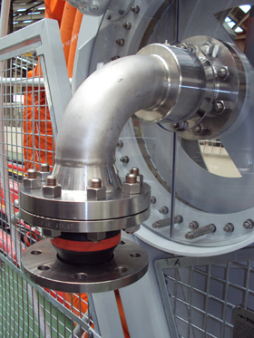 Close up of Hose Reel Swivel