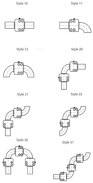 Swivel Joints 360 styles