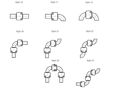 Swivel Joint weld styles