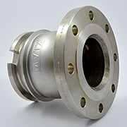 KLAW dry disconnect coupling tank adapter flange