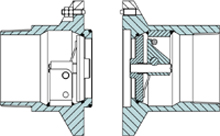Marine Breakaway Coupling closure 4