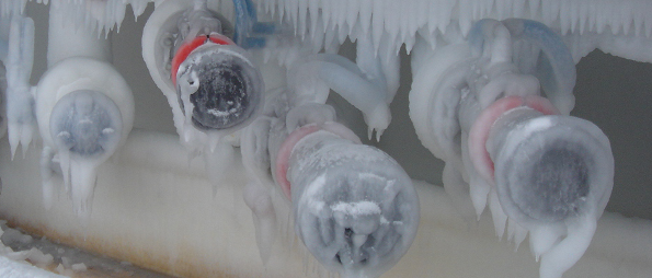 klaw cryogenic emergency releace couplings (ERC) in frozen loading rack
