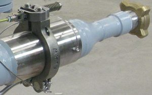 klaw erc spring retained on loading arm